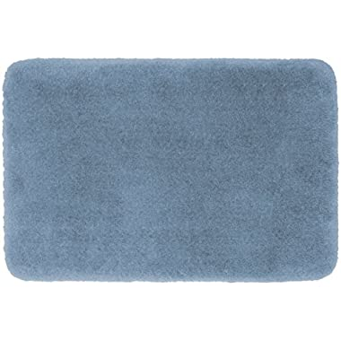 Stainmaster TruSoft Luxurious Bath Rug, 17-By-24 Inch Blue Sky