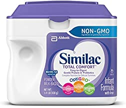 Similac Total Comfort Infant Formula with Iron, Easy to Digest, Baby Formula, Powder, 1.41 Pound (Pack of 4)