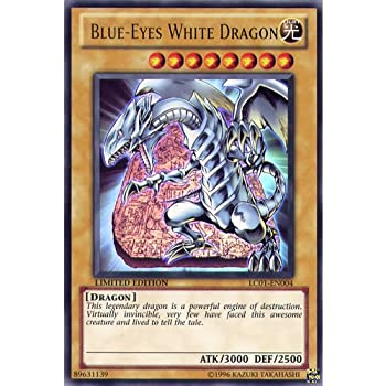 YuGiOh   LC01-EN004 limited Ed Blue-Eyes White Dragon Ultra Rare God Card by Deckboosters