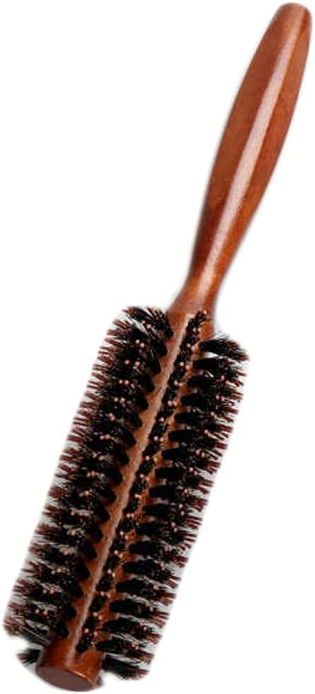 Rubsy 6 Types Straight Twill Hair Comb Natural Roll Boar shopping Bristle 5% OFF