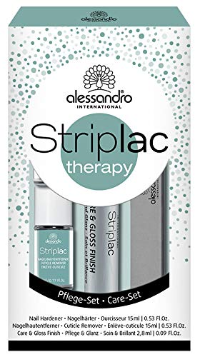 alessandro Nagellack/ Striplac Therapy Set 5-teilig, 1er Pack (1 x 12,8 ml)