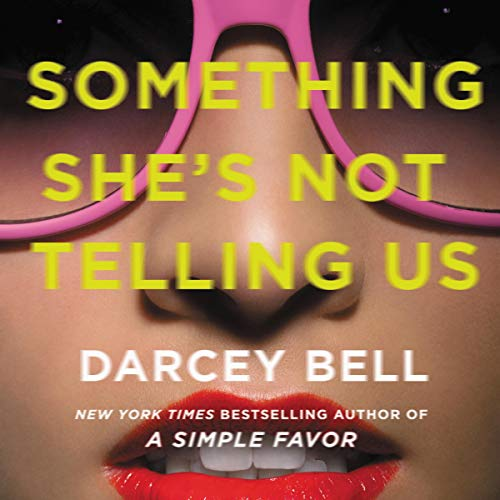 Something She's Not Telling Us audiobook cover art