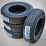 Set of 4 (FOUR) Haida Puma HD818 Mud Off-Road Light Truck Radial Tires-LT215/75R15 215/75/15 215/75-15 106/103S Load Range D LRD 8-Ply BSW Black Side Wall