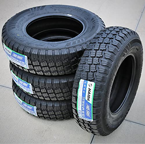 Set of 4 (FOUR) Haida Puma HD818 Mud Off-Road Light Truck Radial Tires-LT215/75R15 215/75/15...