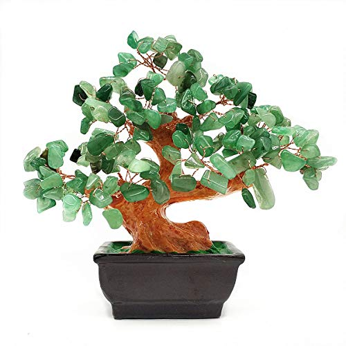 Colorsheng Feng Shui Quartz Crystal Money Tree Bonsai...