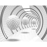 Tapisserie Photo 3D - Résumé 352 x 250 cm Laine papier peint Salon Chambre Bureau...