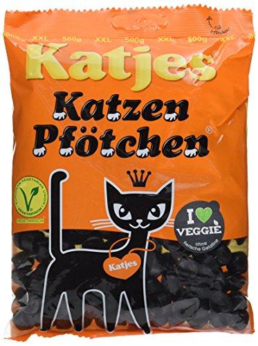 Katjes Katzen Pfötchen, 3er Pack (3 x 500 g)