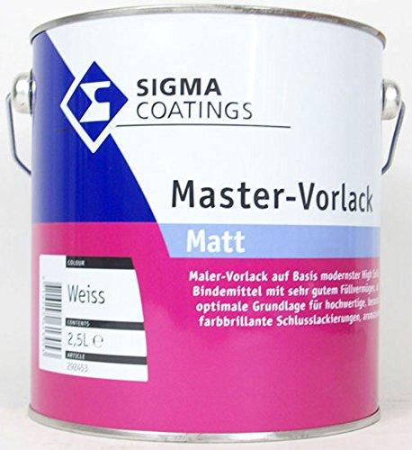 1L Sigma Master Vorlack matt weiss