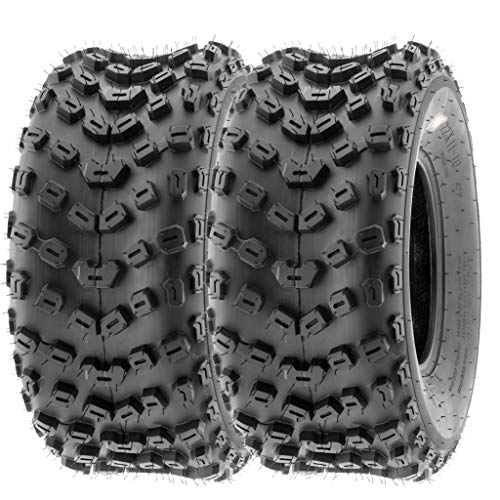 SunF 22x11-10 22x11x10 ATV UTV Tires 6 PR Tubeless A005 [Set of 2]
