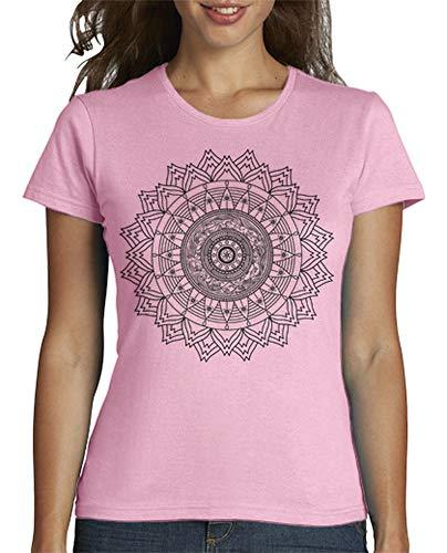latostadora - Camiseta Mandala para Mujer