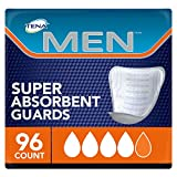 Tena Incontinence Guard for Men, Super Absorbency, 96 Count