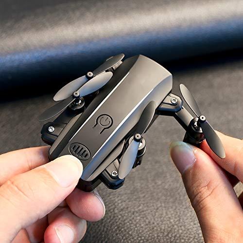 Kleine Drohnen, Mini Dron Selfie RC Quadcopter Kamera HD 1080P WiFi FPV Drohne Faltbare Höhe Halten RC Hubschrauber Drohnen Professionelles Spielzeug für Kinder und Erwachsene