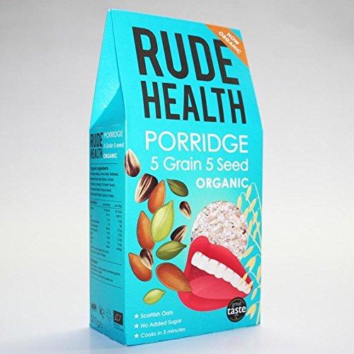 Rude Health Foods   5 Grain 5 Seed Porridge   3 x 500g
