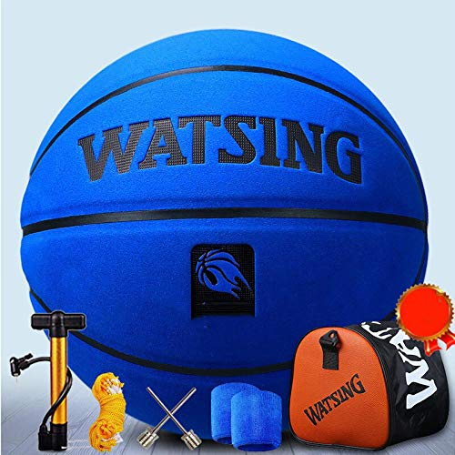Affordable SSLLPPAA Cowhide Soft Leather Basketball Thickened Cowhide No.7 Indoor and Outdoor Ordina...
