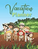 Vacation Planner: Journal for Travel and Vacation Trips, Itinerary Organizer, Journal and Memories