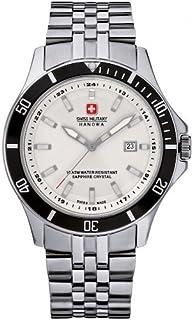 Swiss Military Hanowa - Reloj Analógico para Hombre de Cuarzo con Correa en Acero Inoxidable 06-5161.2.04.001.07
