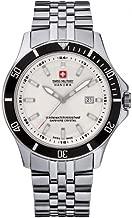 Swiss Military Hanowa Reloj Analógico para Hombre de Cuarzo con Correa en Acero Inoxidable 06-5161.2.04.001.07