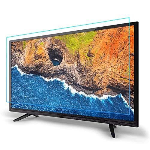 32-65 Pulgadas LCD Televisor Pantalla Protector, Luz Anti-Azul Sin Deslumbramiento Anti-rasguños Pantalla Protector, Aliviar Ojo Fatiga por LCD, LED,55 Inch