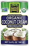 Native Forest Organic Premium Coconut Cream Unsweetened, 5.4 Fl Oz (Pack of 12)