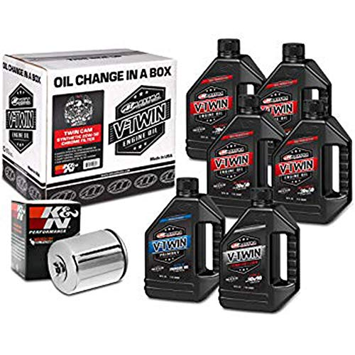 Quick Change Evo-Sportster Mineral Oil Change Kit with Chrome Filter - 20W50 Fits 1999-2009 Harley Davidson XL883C Sportster 883 Custom
