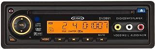Jensen DVDB01 DVD Player 12V, DIN Mount, Remote Control, Plays CD/DVD/MP3/WMA