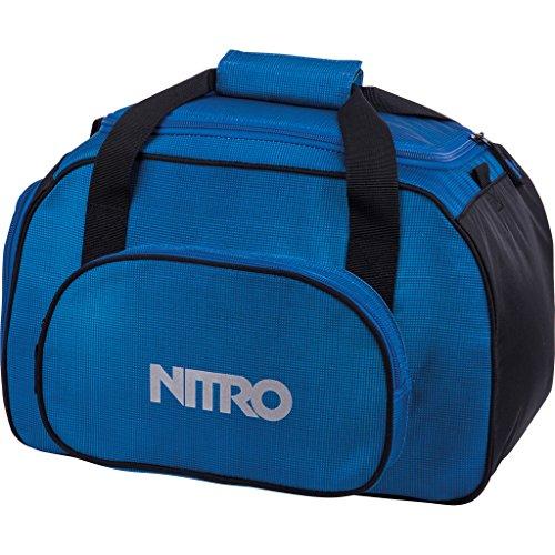 Nitro Sporttasche Duffle Bag XS, Schulsporttasche, Reisetasche, Weekender, Fitnesstasche,  40 x 23 x 23 cm, 35 L, 1131-878019_ Blur Brilliant Blue