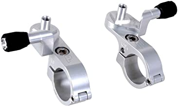 Paul Components Microshift Thumbies Shifter Mounts, Silver Pair - 253SILVER