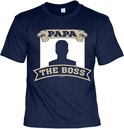 Tolles und witziges T-Shirt mit Wunschbild: Papa The Boss