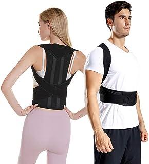 Mlida Multifunction Posture Corrector Back Brace,Comfortable Posture Corrector for Men and Women, Adjustable Back Straight...