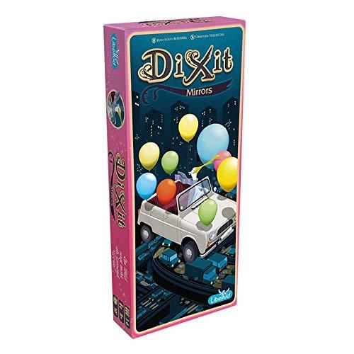 Asmodee Dixit 10 - Mirrors, Erweiterung, Kartenspiel, Familienspiel, Deutsch