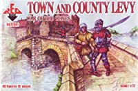 レッドボックスFigures War of the Roses : Town and Country Levy (40-piece) (1 / 72-scale)