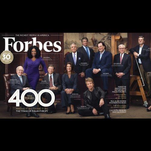 Forbes, September 24, 2012 audiobook cover art