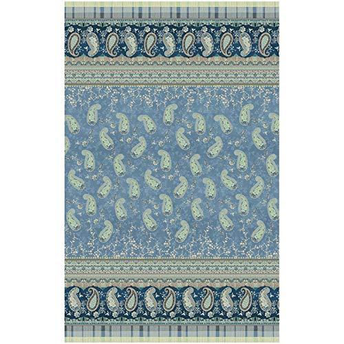 Bassetti ANACAPRI Foulard, Baumwolle, blau, 180x270