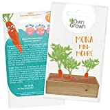Mini Möhren Samen: Premium Mini Möhrensamen für Kinder und Erwachsene – Baby Karotten Samen für ca 300 Pflanzen – Mona Mini Möhre – Mini Gemüse Saatgut für Kids – Saat Samen Karotten von OwnGrown