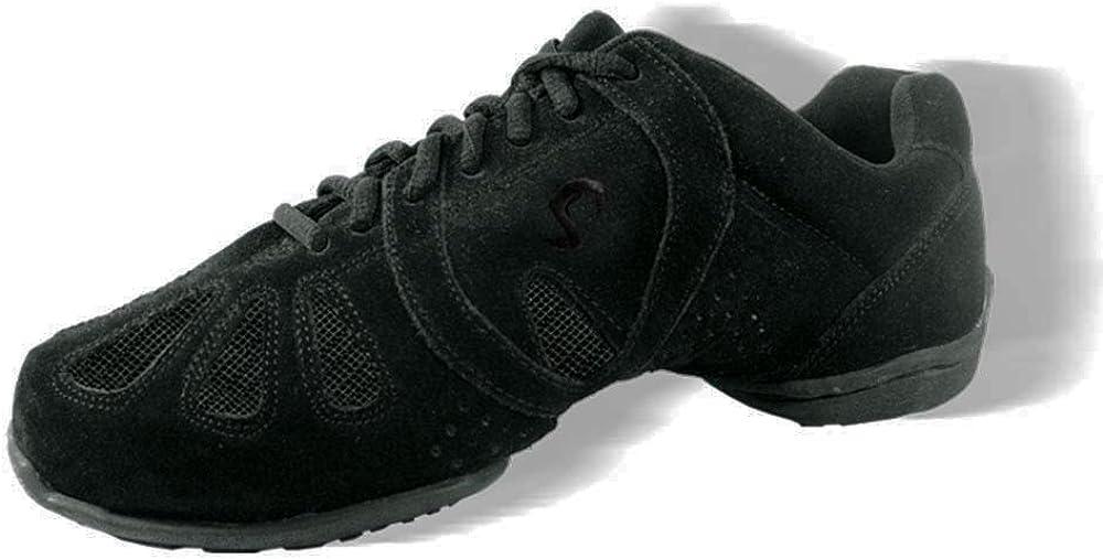 期間限定 新色追加 Skazz by Sansha Women's Dance Suede Studio Lea Exercise Sneakers