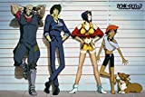 GB Eye Ltd Cowboy Bebop, Line Up, Maxi Poster 61 x