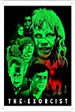 TIN Sign The Exorcist Film Movie Metal TIN Sign Poster Wall Plaque