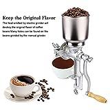 Cocoarm Getreidemühle Getreidequetsche Gusseisen Mahlwerk Mais Weizen Einstellbare Getreide Kaffee Nuss Mühle Brecher für Küche zu Hause - 3