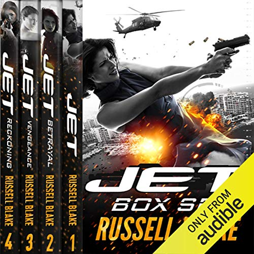 JET (4 Novel Bundle) audiobook cover art