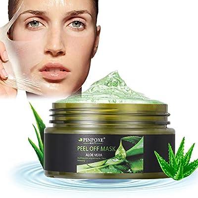 Peel Off Mask, Blackhead Remove Masks, Blackhead Mask, Aloe Vera Face Mask, Acne Killer Deep Cleansing Blackhead Crystal Mask, 100g by Pinpoxe