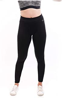 Lovable Women Girls Solid Polyester Spandex Sports Tights in Black Color- Aero Sprinter_XC-BK