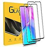 NONZERS Cristal Templado para Huawei P30 Pro, [2 Unidades] [Admite la función de Huella Digital] 3D Curvado Completa Cobertura 9H Dureza Vidrio Templado, Protector de Pantalla para Huawei P30 Pro
