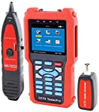 Noyafa NF-704 CCTV Monitor Tester with Trace to Locate Metal Cables Wire Map for Rj45 and BNC