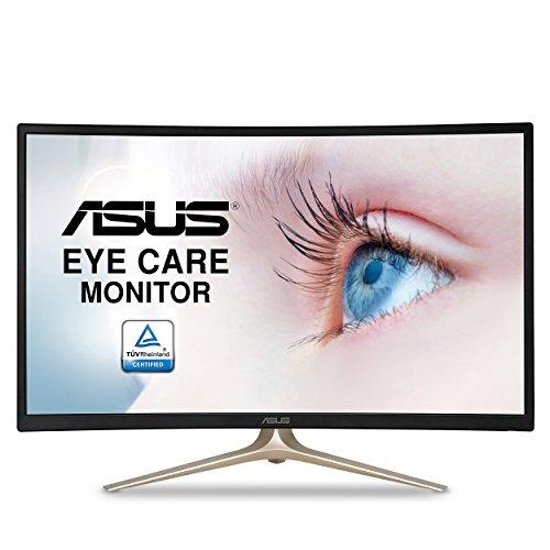 """Asus Curved VA327H 31.5"""" Full HD 1080P HDMI VGA Eye Care Monitor"""