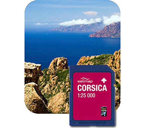 Satmap Carte: France - Corse 1:25k