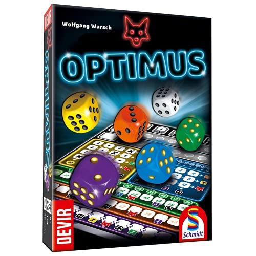 Devir- BGOPTIM Juego de Estrategia, Optimus, Multicolor