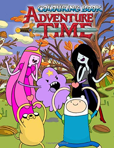 Adventure Time Colouring Book: Colouring Books for Kids Ages 4 -12