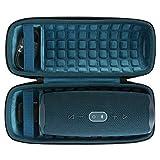 Hart Reise Schutz Hülle Etui Tasche für JBL Charge 4 Tragbarer Bluetooth Lautsprecher von co2CREA (Blau)