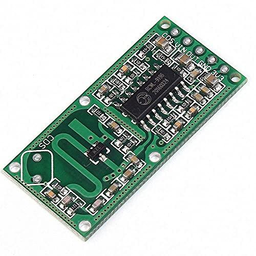 Módulo Sensor de radar de microondas 5 uds Detección penetrante RCWL-0516 Interruptor de inducción del cuerpo humano Detector inteligente Salida de 3,3 V