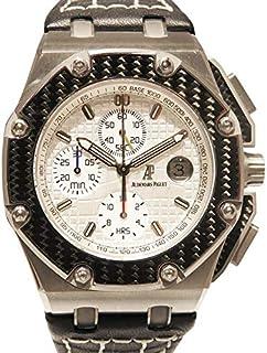オ-デマ・ピゲ AUDEMARS PIGUET ロイヤルオ-クオフショア クロノグラフ ファン・パブロ・モント-ヤ 世界限定1000本 26030IO.OO.D001IN.01 中古 腕時計 メンズ (W162706)